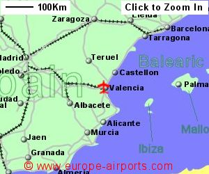 Valencia Airport Spain VLC Guide Flights