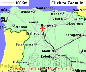 Valladolid Airport Spain VLL Guide Flights