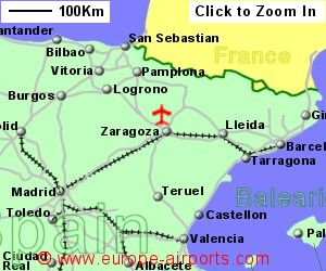 Zaragoza Airport Spain ZAZ Guide Flights