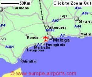 Malaga Airport Spain Agp Guide Flights