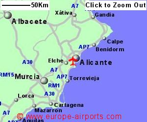 AlicanteElche El Altet Airport Spain ALC Guide Flights