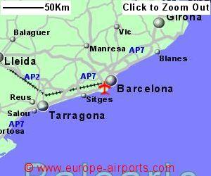 Barcelona El Prat Airport Spain BCN Guide Flights