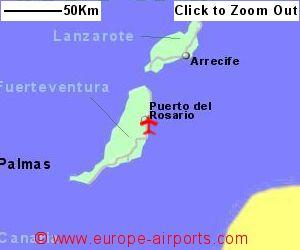 Fuerteventura Airport Spain FUE Guide Flights