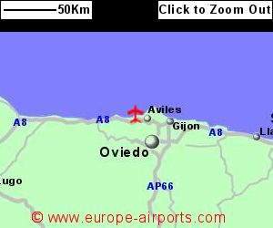 Asturias Oviedo Airport Spain OVD Guide Flights