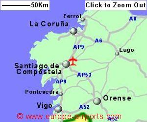 Santiago de Compostela Airport Spain SCQ Guide Flights