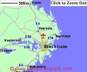StockholmArlanda Airport Sweden ARN Guide Flights - Sweden map airports