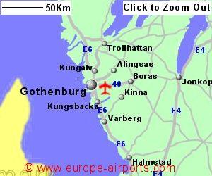 GothenburgLandvetter Airport Sweden GOT Guide Flights - Sweden map gothenburg