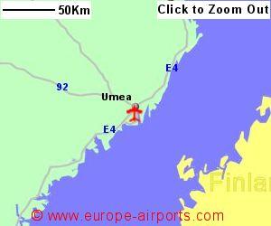 Umea Airport Sweden UME Guide Flights