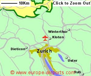 Zurich Airport Switzerland ZRH Guide Flights