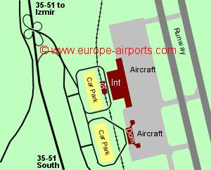 Izmir (Adnan Menderes) Airport, Turkey (ADB) - Guide & Flights