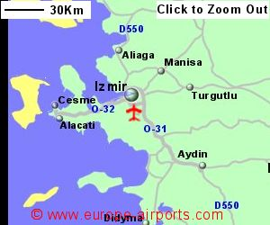 Izmir Adnan Menderes Airport Turkey ADB Guide Flights