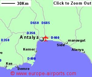 Antalya Airport Turkey AYT Guide Flights