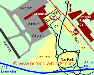 Car Park Layout Birmingham Airport