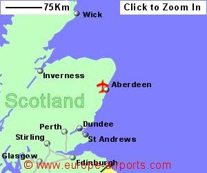 Aberdeen Dyce Airport ABZ Guide Flights