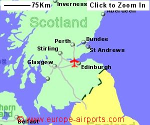 Edinburgh Turnhouse Airport EDI Guide Flights