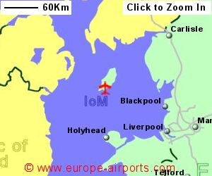 Isle of Man Ronaldsway Airport IOM Guide Flights