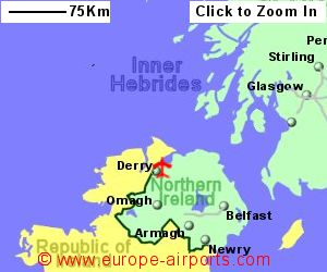 City of Derry Airport LDY Guide Flights