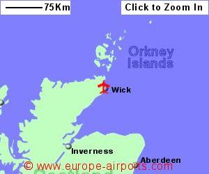 Wick John O Groats Airport WIC Guide Flights