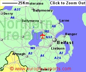 Belfast International Aldergrove Airport BFS Guide Flights
