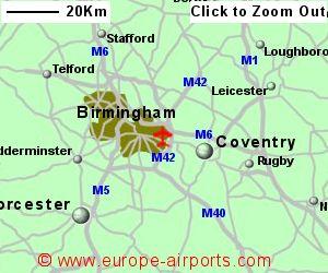 Birmingham Airport BHX Guide Flights
