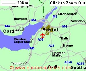 Bristol Airport BRS Guide Flights