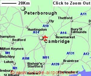Cambridge Airport CBG Guide Flights