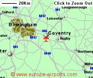 Coventry Airport CVT Guide Flights
