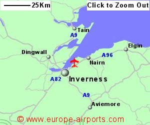 Inverness Airport INV Guide Flights