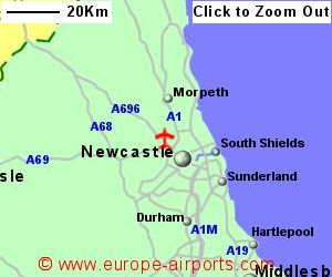 Newcastle Airport NCL Guide Flights