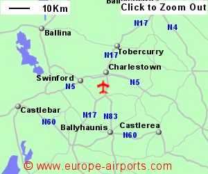 Map Of Ireland Knock.Ireland West Knock Airport Noc Guide Flights