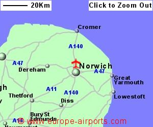 Norwich Airport NWI Guide Flights