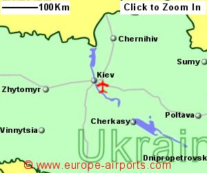 Kiev Boryspil Airport Ukraine KBP Guide Flights